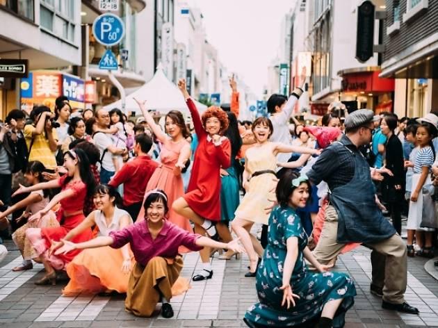 Shibuya Music Scramble