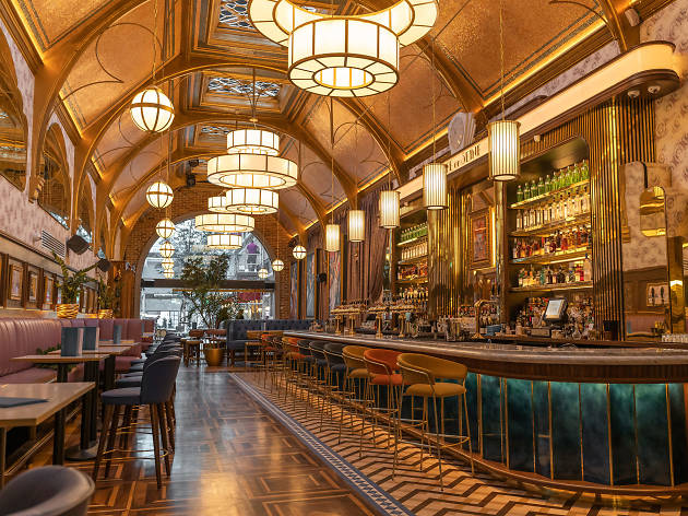 The Grand Bar at Café En Seine in Dublin