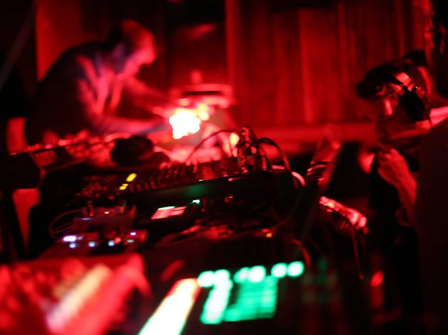 A DJ at Yamamori Tengu in Dublin