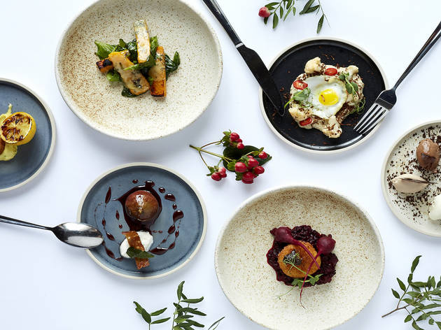 40% off a six-course tasting menu and a glass of prosecco at The Library