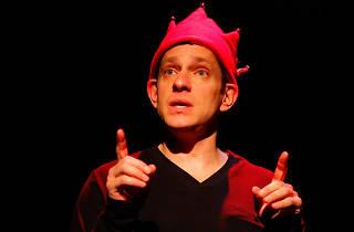 Jeffrey Solomon in The Santa Closet