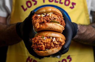 Breaking Bad Pollos Hermanos chicken Los Angeles pop up 2019