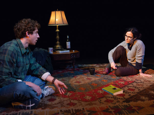 Mary-Louise Parker and Will Hochman in The Sound Inside