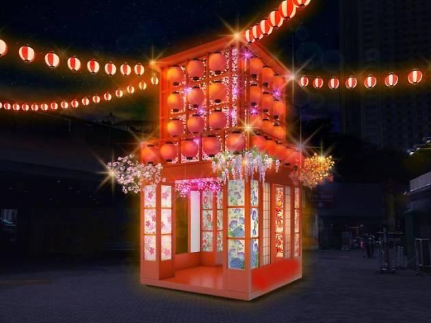 東京ドームシティ ウィンターイルミネーション ~山紫水明~