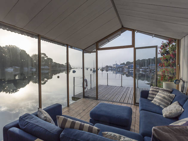 Amelie houseboat in Falmouth