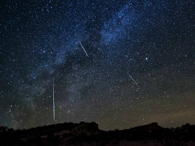 There's going to be a huge meteor shower over London tonight