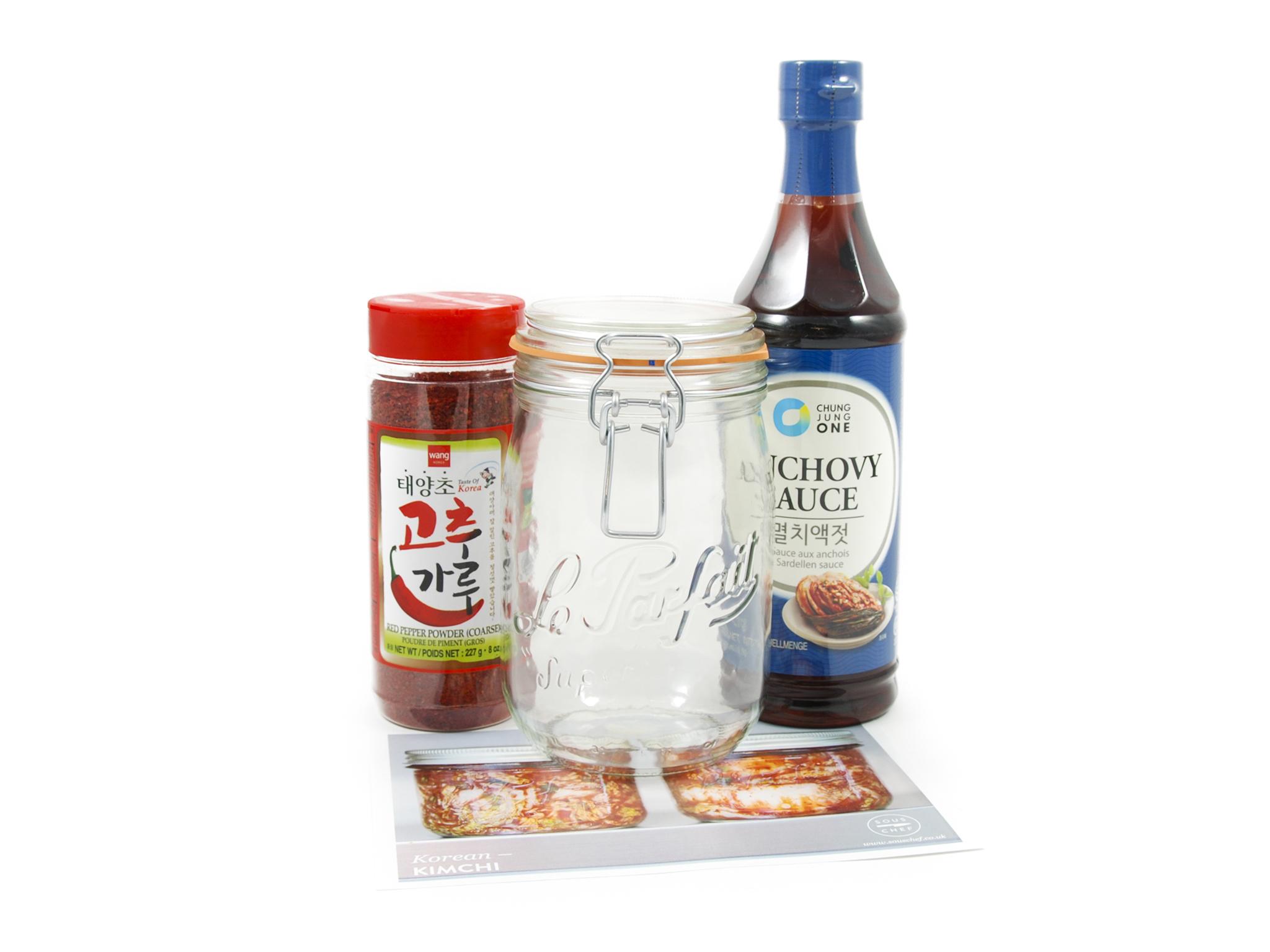 Kimchi making set