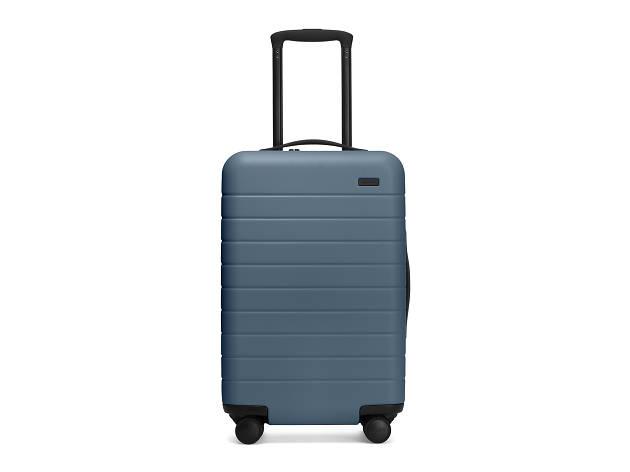 Carry-on aluminium suitcase