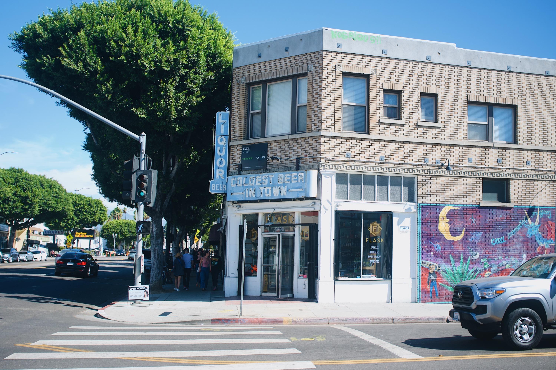 Tinfoil liquor store deli Highland Park Jeff's Table LA