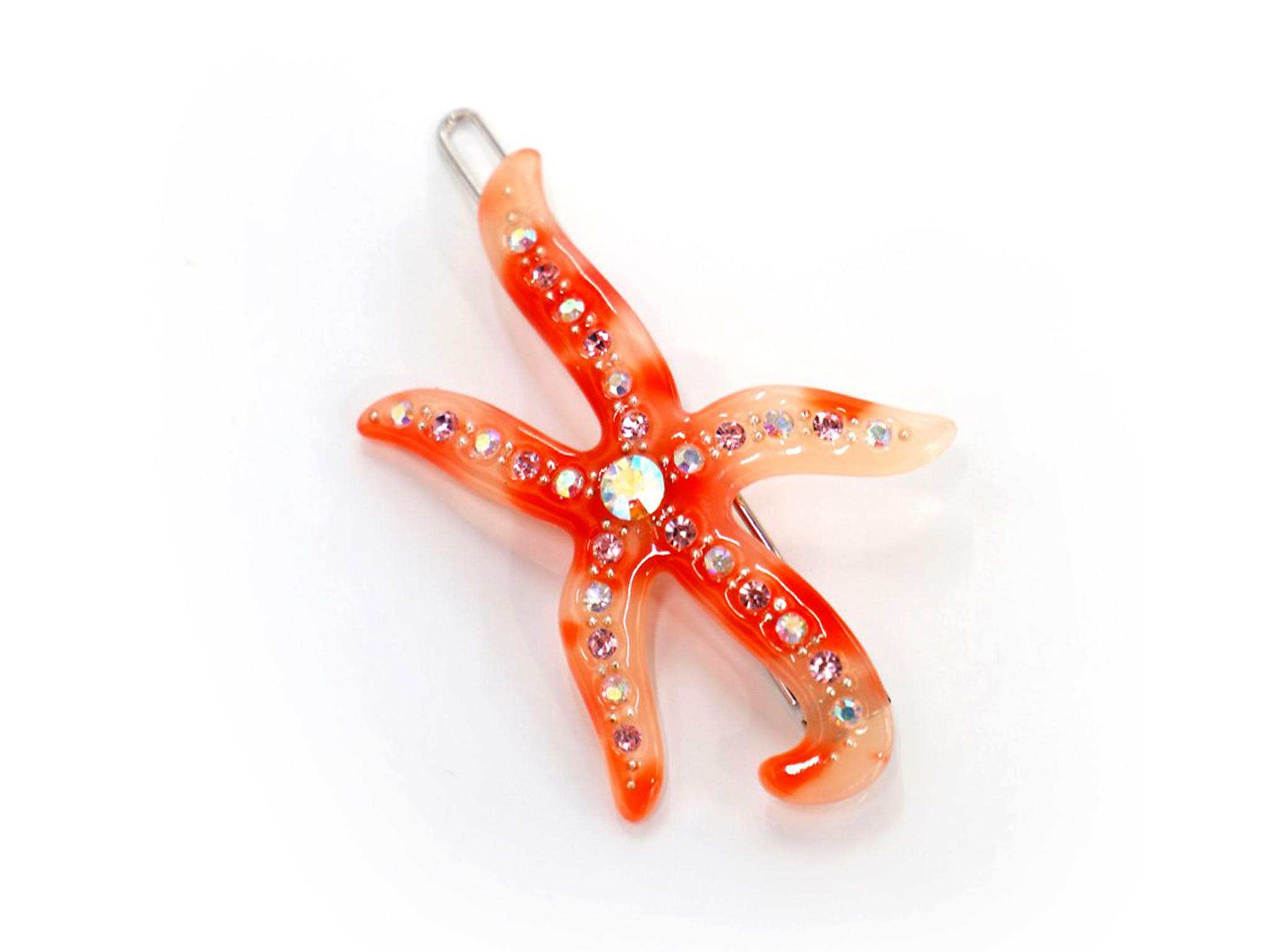 Seoul Import Starfish tortoise hair clip