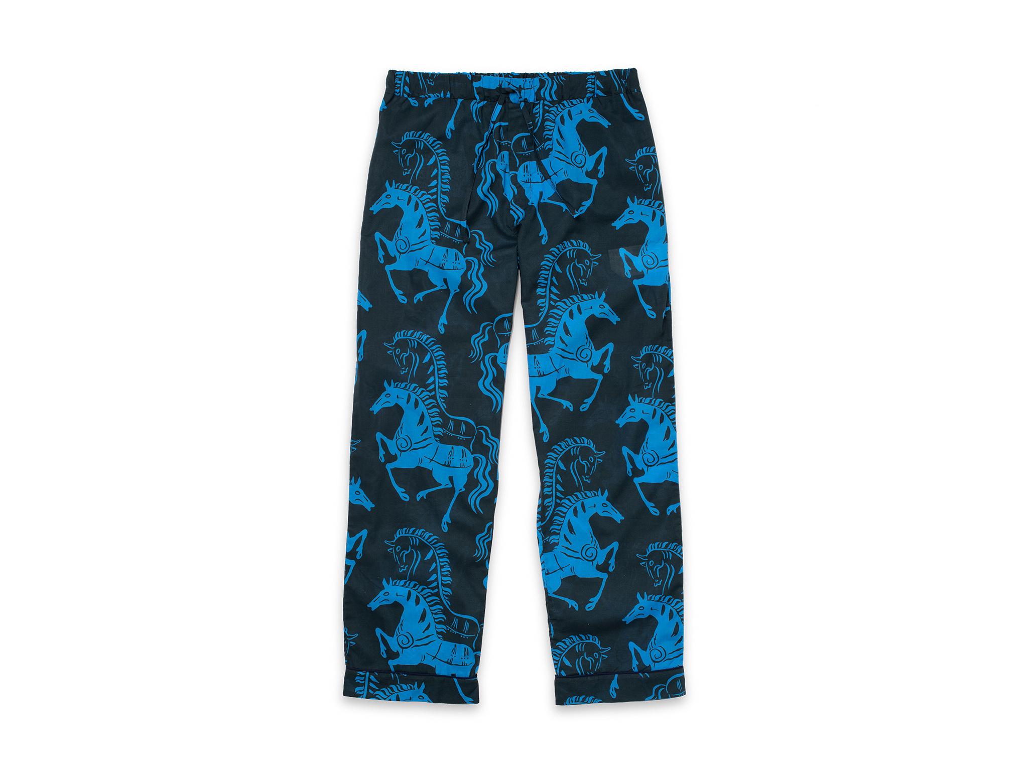 Caballa print pyjama trousers