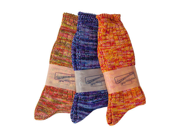 5 Colour crew socks