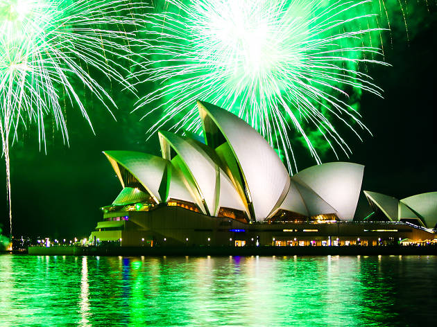 Sydney Opera House New Years Fireworks