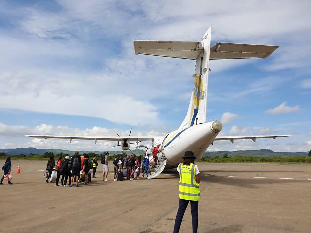 Myanmar Heho Airport