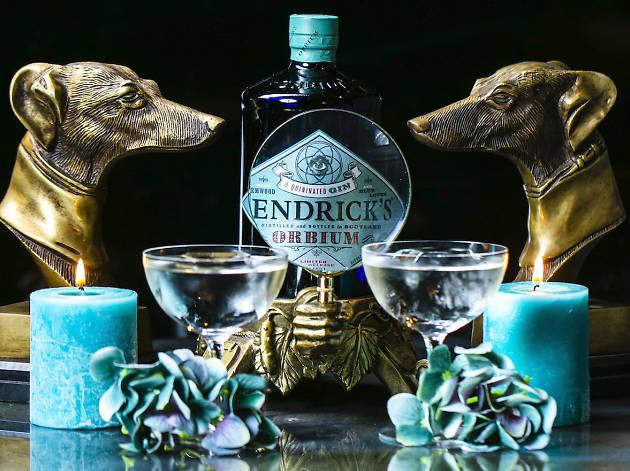 Orbium cocktails reimagined by Hendrick's Gin