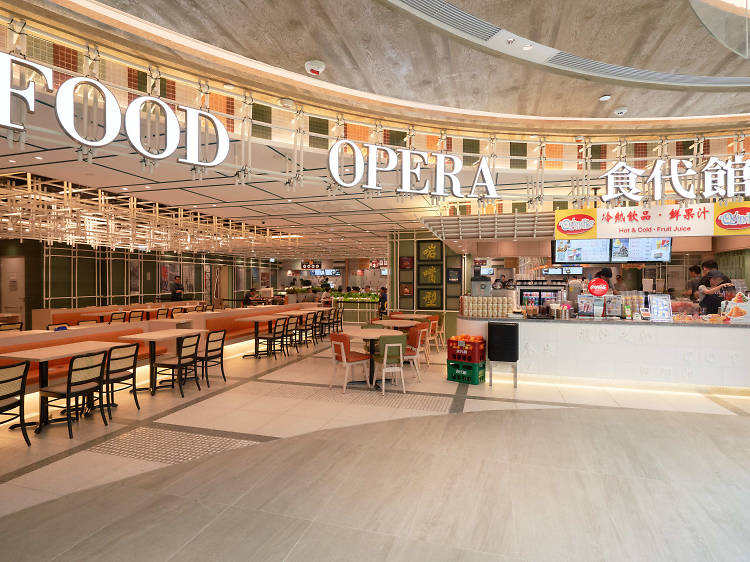 東薈城食代館︰專攻亞洲美食