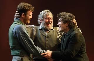 Seamus O'Hara, Ciarán Hinds and Fra Fee in 'Translations'