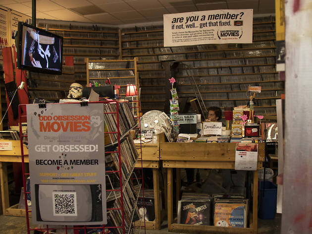 You can help save one of Chicago's last surviving video rental stores