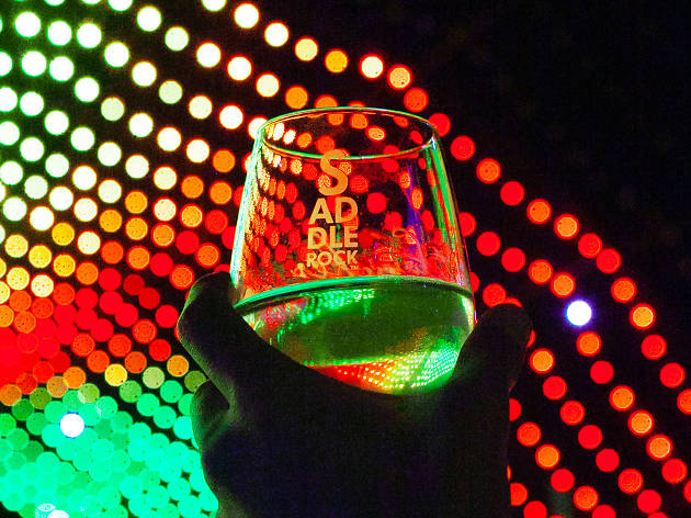 Combine your love of Christmas lights with getting drunk at Malibu Wine Safaris' new holiday lights wine tour