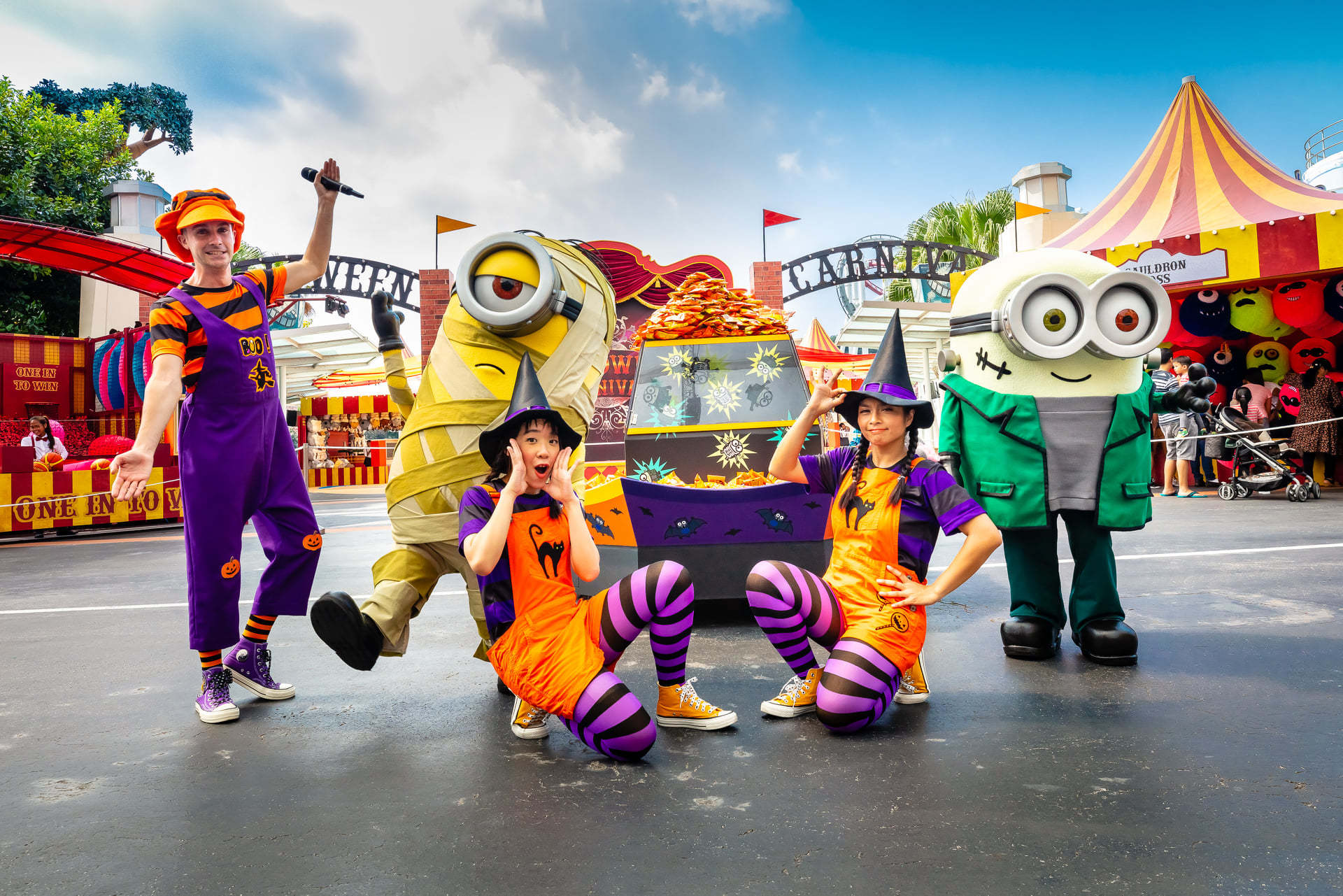 Universal Studios, Halloween Fun For Everyone