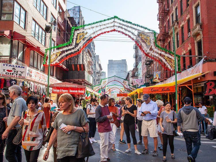 Attend the Feast of San Gennaro