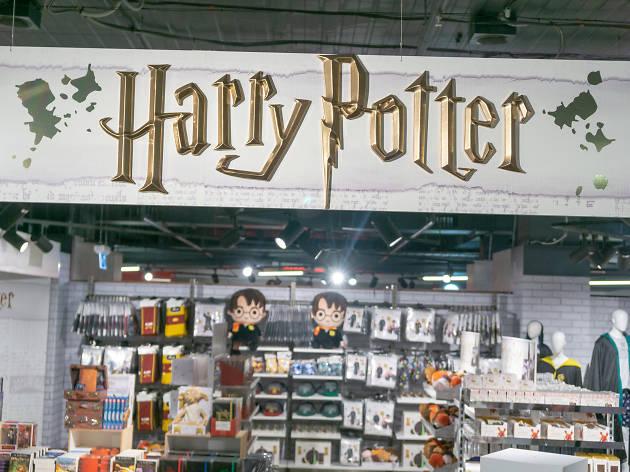 Harry Potter banner at Myer