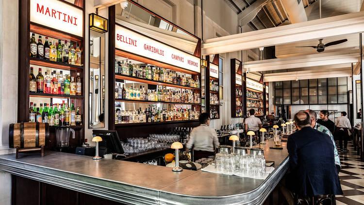 Interior bar area at Pepe's