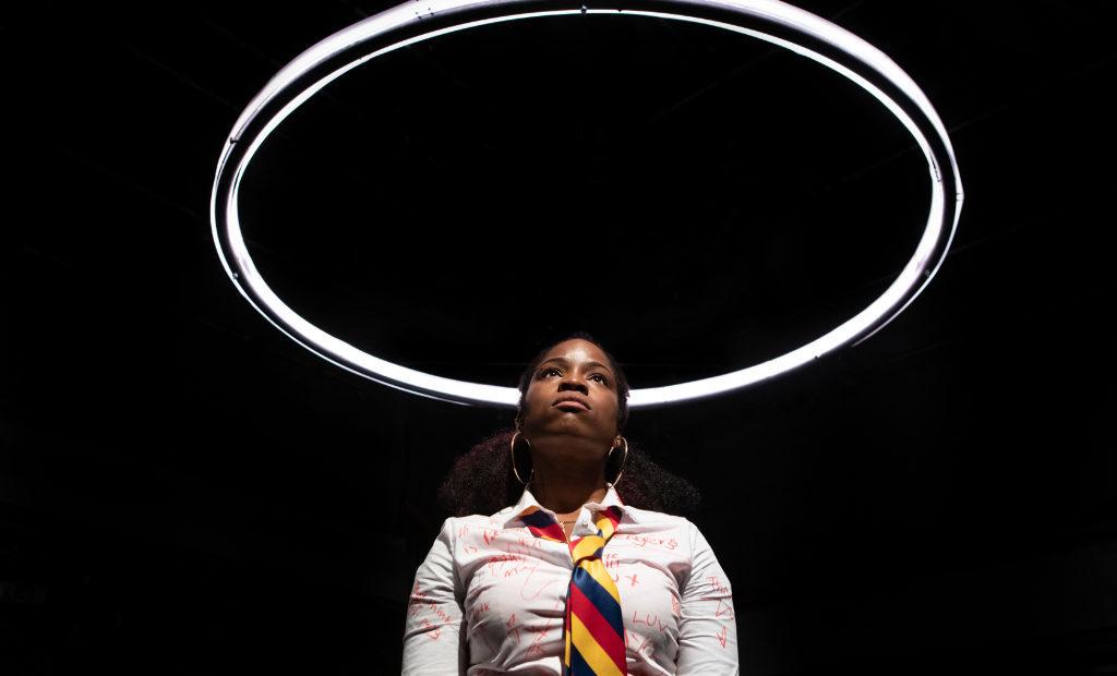 Rachel Nwokoro in 'Little Baby Jesus' at Orange Tree Theatre
