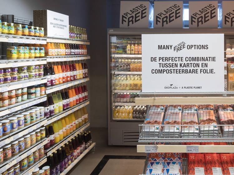 Um supermercado sem plástico