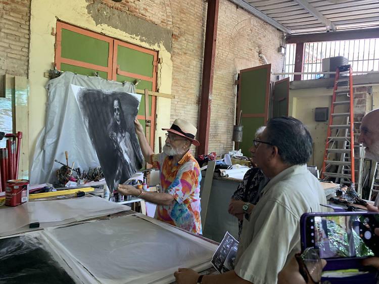 Ofrenda puertorriqueña al cine mexicano en blanco y negro: de Santa a Roma