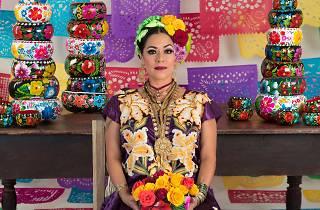 Lila Downs celebra el Día de Muertos en la CDMX