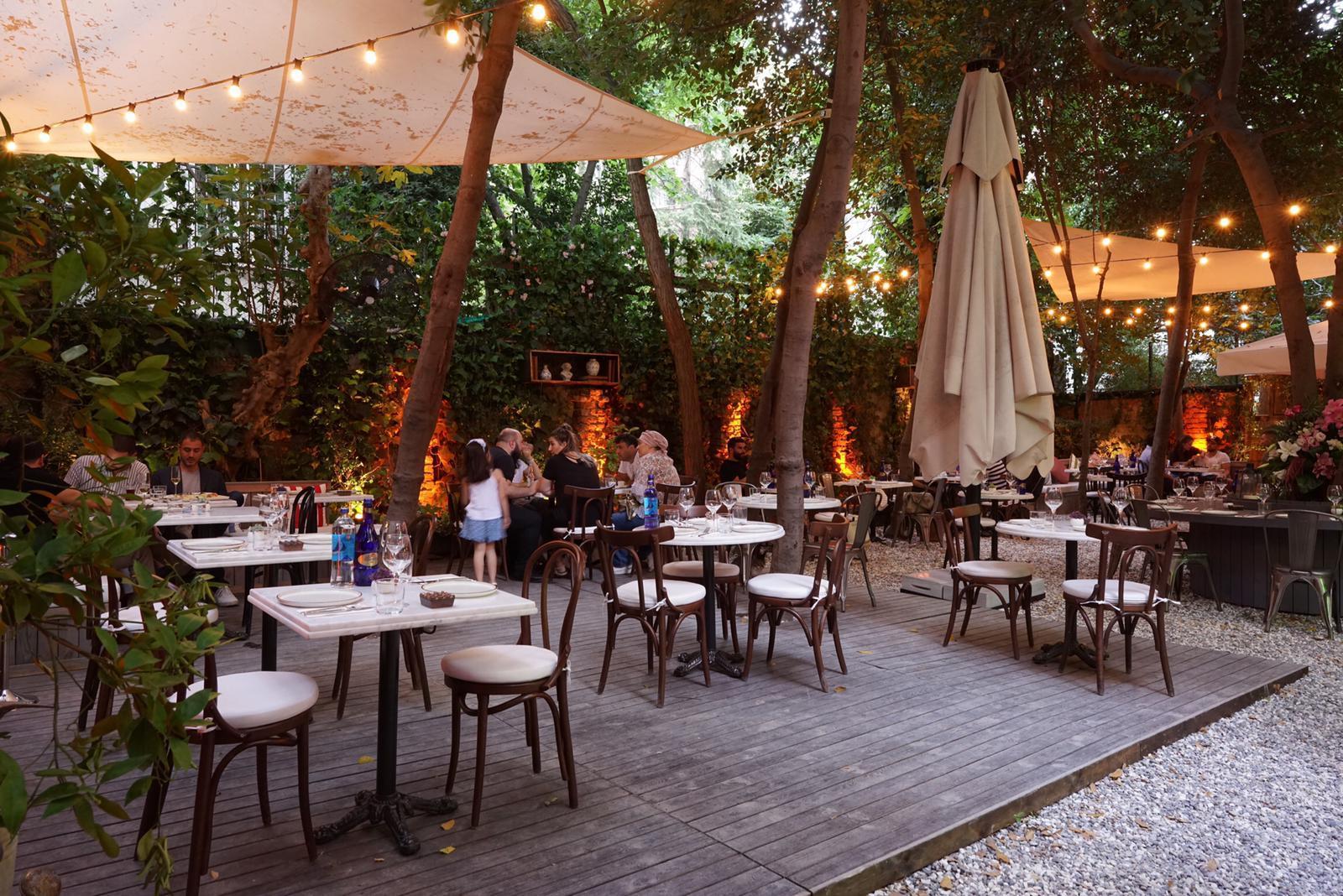 Emily S Garden Restaurants In Cihangir Istanbul
