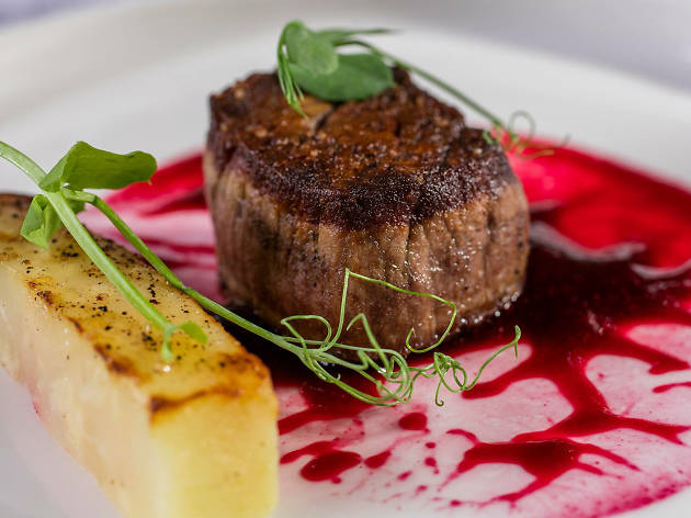 A meat course at Manifesto restaurant in Dublin
