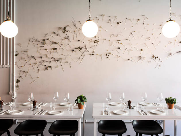 The interior of Host restaurant in Dublin