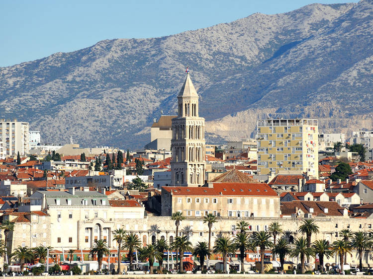Climb Split's cathedral