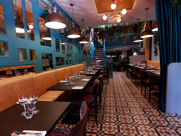 The interior of Pickle restaurant in Dublin