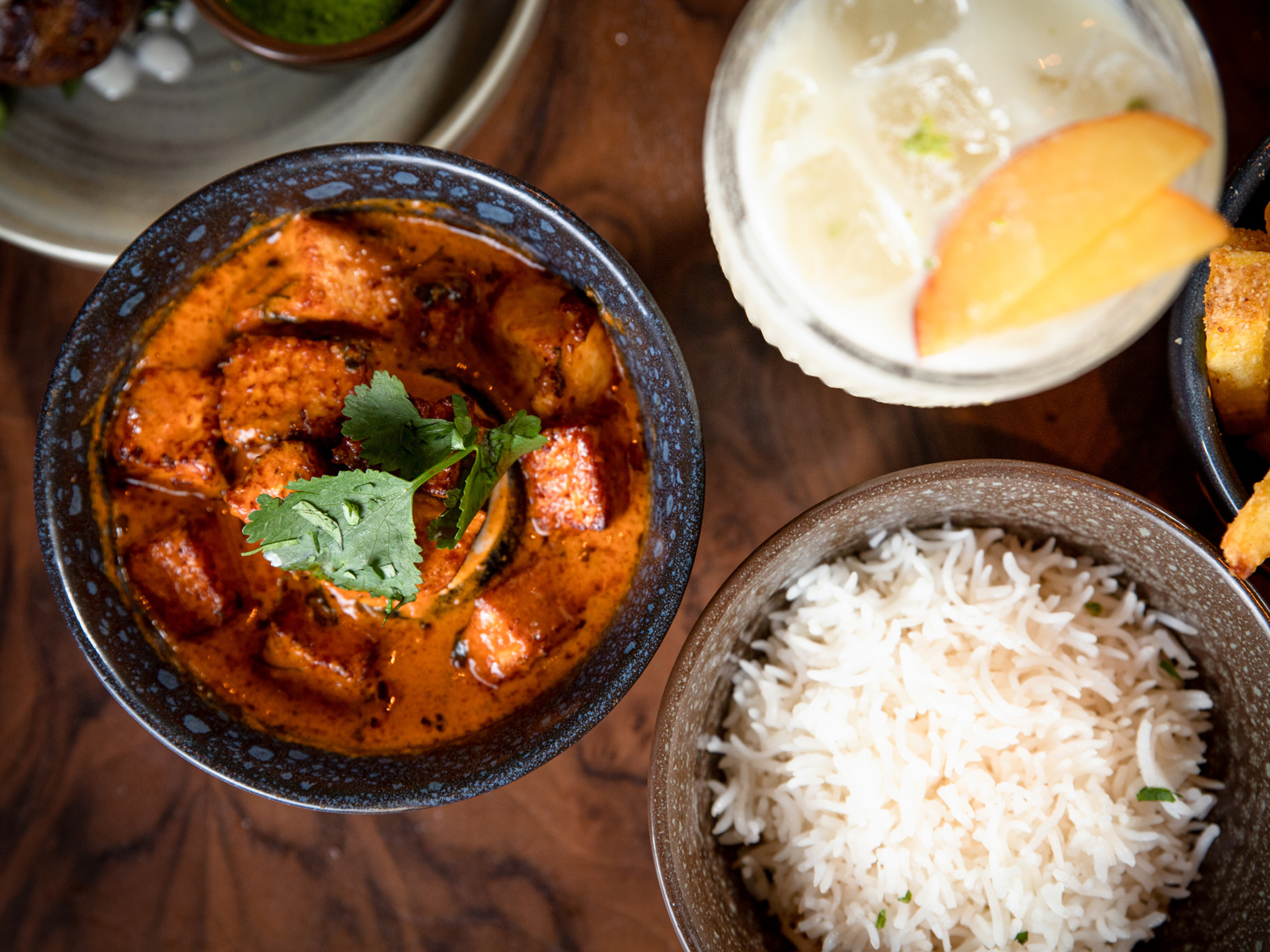 A paneer makhni at Doolally curry house in Dublin