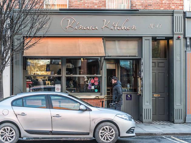 The exterior of Kinara Kitchen restaurant in Dublin