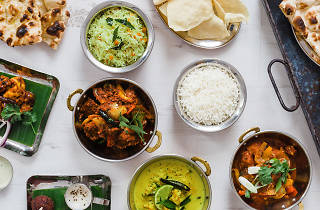 A selection of dishes at Kerala Kitchen restaurant in Dublin