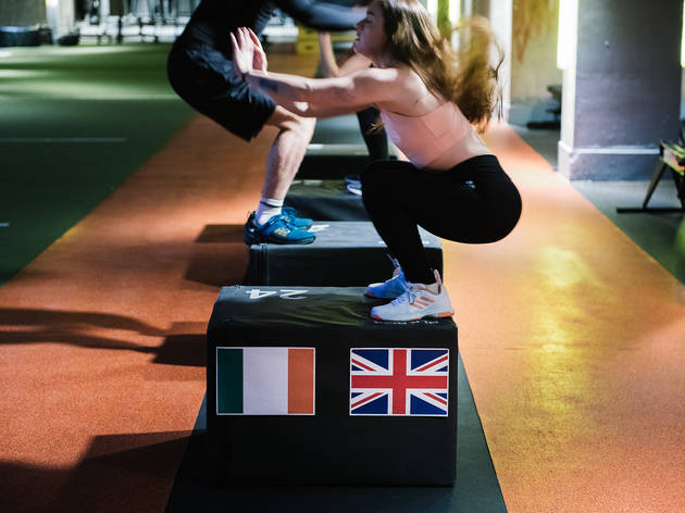Sweat out your Brexit stress at this politically-themed fitness class