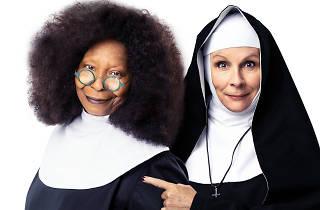 Whoopi Goldberg and Jennifer Saunders star in 'Sister Act'