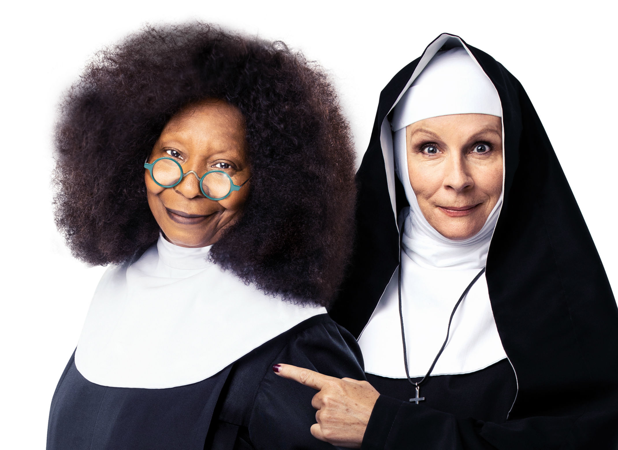 Whoopi Goldberg and Jennifer Saunders star in 'Sister Act'