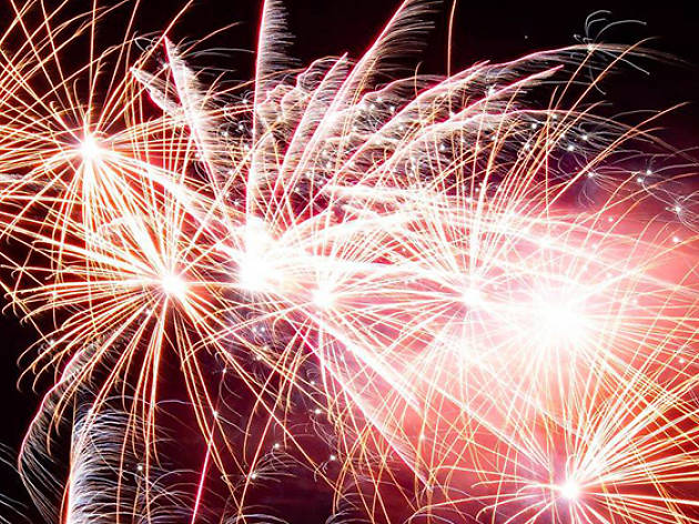 Firework and Laser Display at Gilwell Park