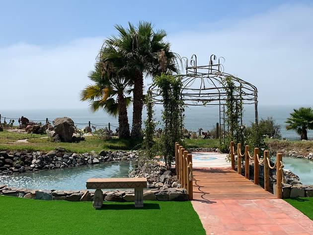 Casa de los 7 Patios en Ensenada