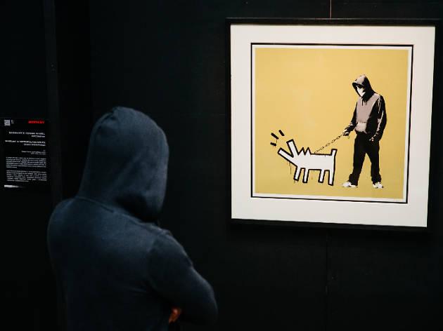 Banksy Genius or Vandal Hong Kong
