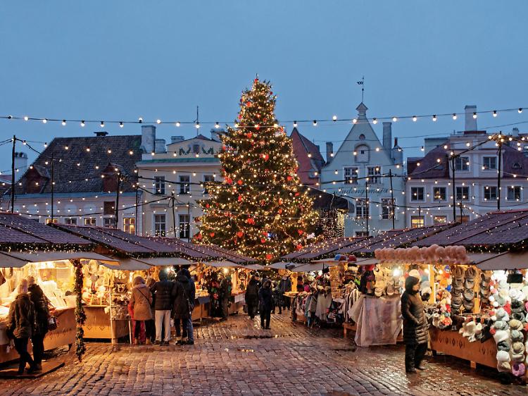 Tallinna Jõuluturg (Estónia)