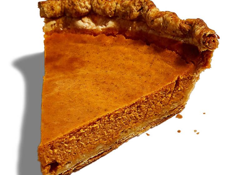 Pumpkin pie at Mah-Ze-Dahr
