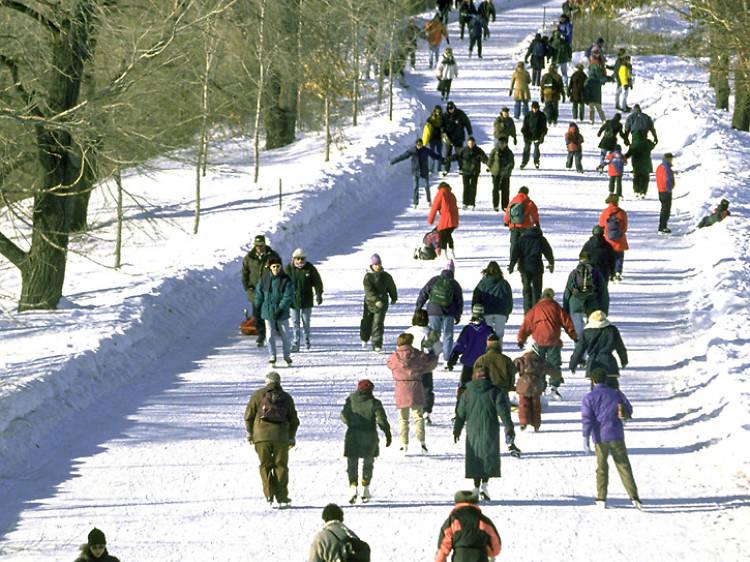 Fête des Neiges at Parc Jean-Drapeau
