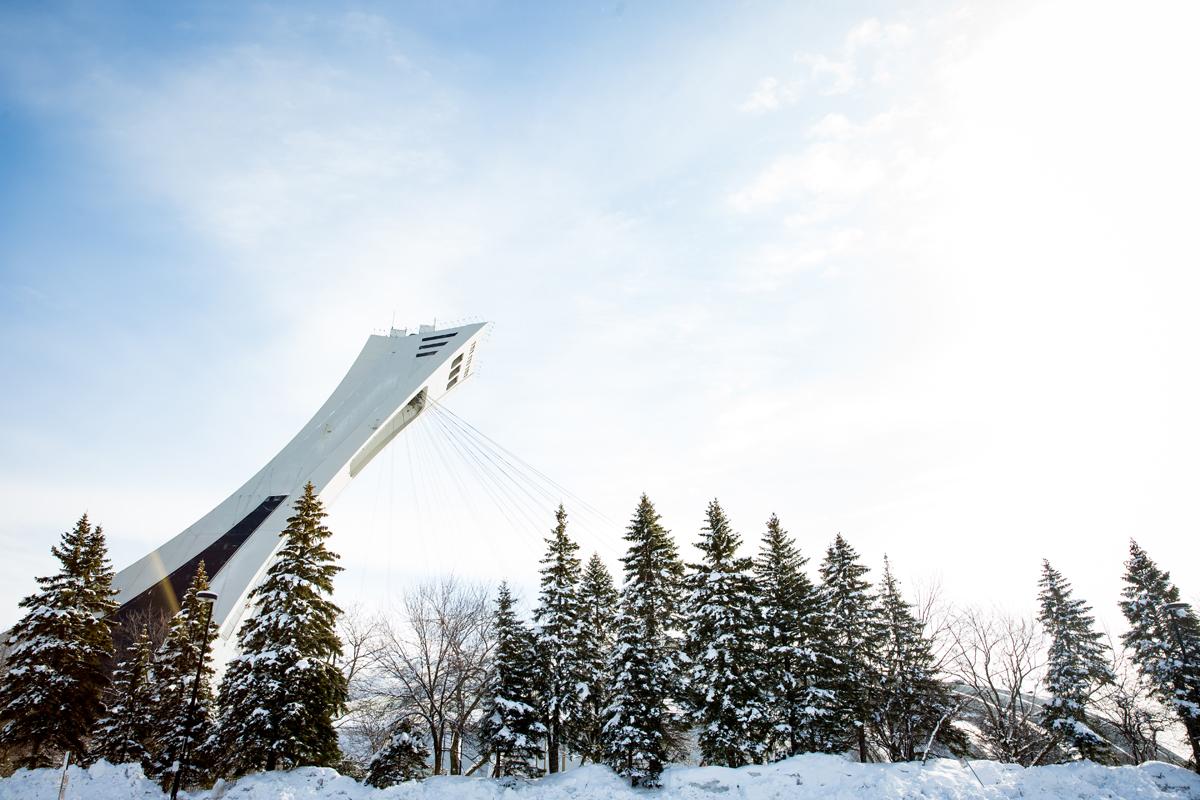 La Tour de Montréal (Parc olympique de Montréal)