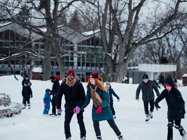 Where to go ice skating in Montreal this winter